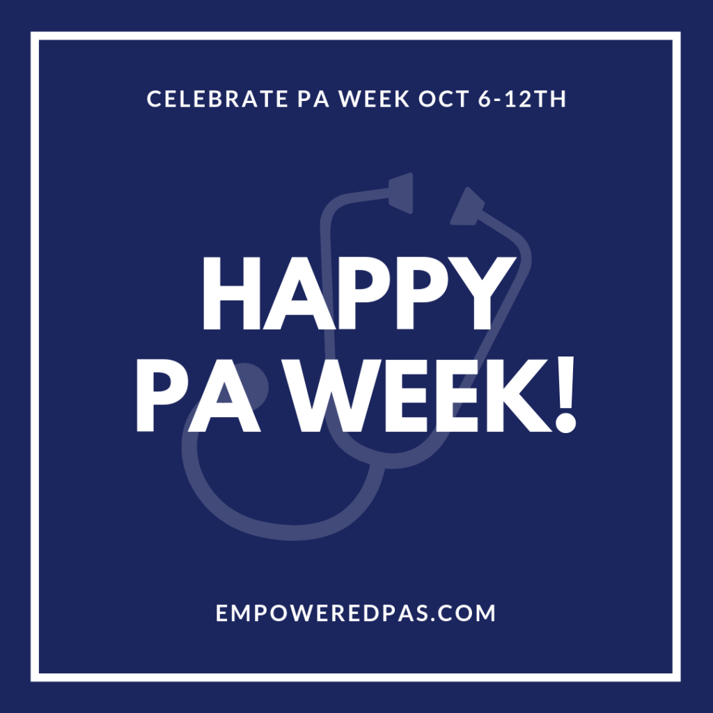 Happy PA Week 2019!