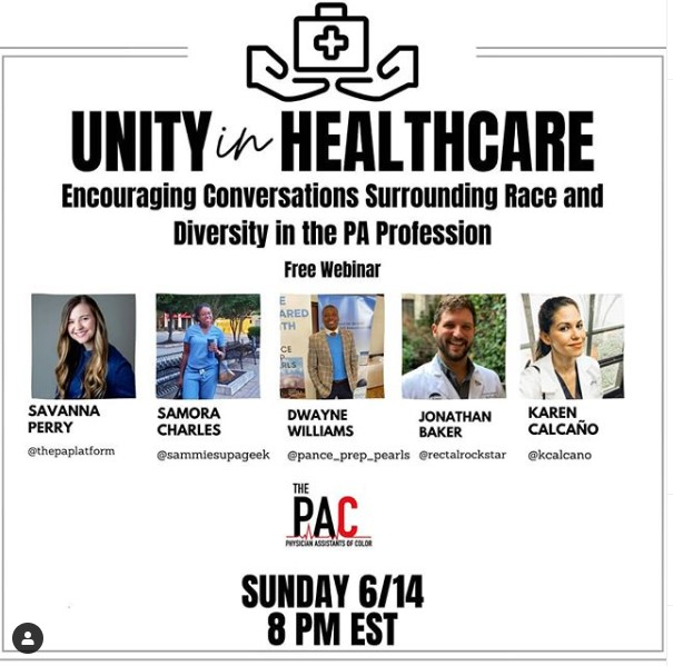 Unity in Healthcare Webinar